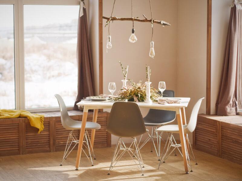 Stylish remodeled room
